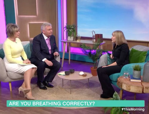 Rebecca on ITV's This Morning